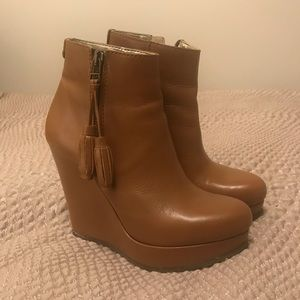 Ted Baker boot wedges. Like new!!!
